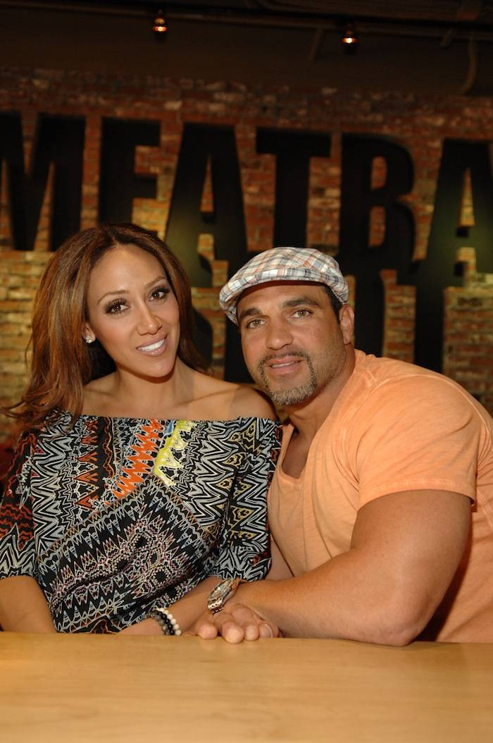 Melissa and Joe Gorga at Meatball Spot