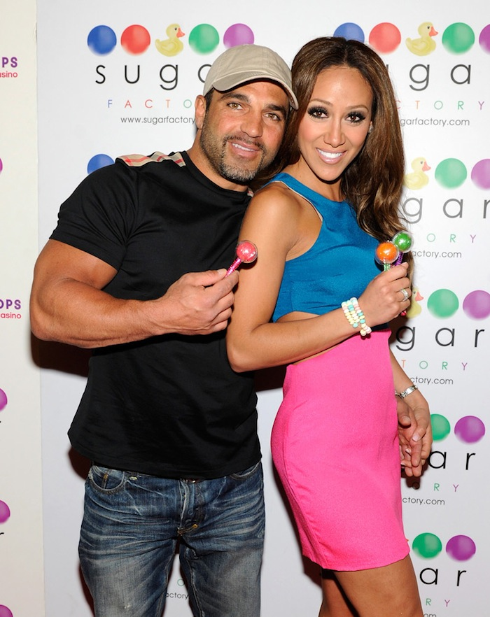 Melissa Gorga Hosts Autograph Signing At Sugar Factory