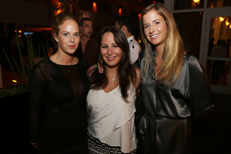 Charlotte Morgan, Hannah LaBove & Alex Morgan