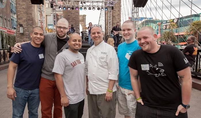 NFI Chef David Suppe and Participants_Credit David Tingey