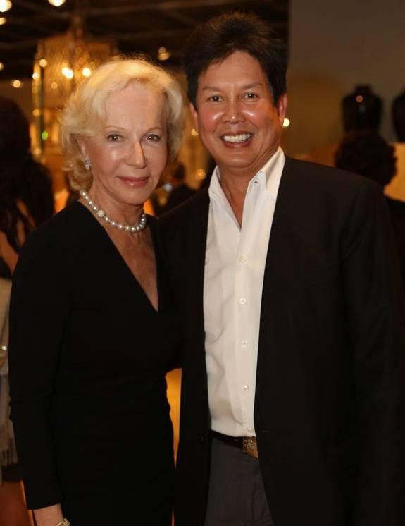 Nancy Corzine and Tui Pranich