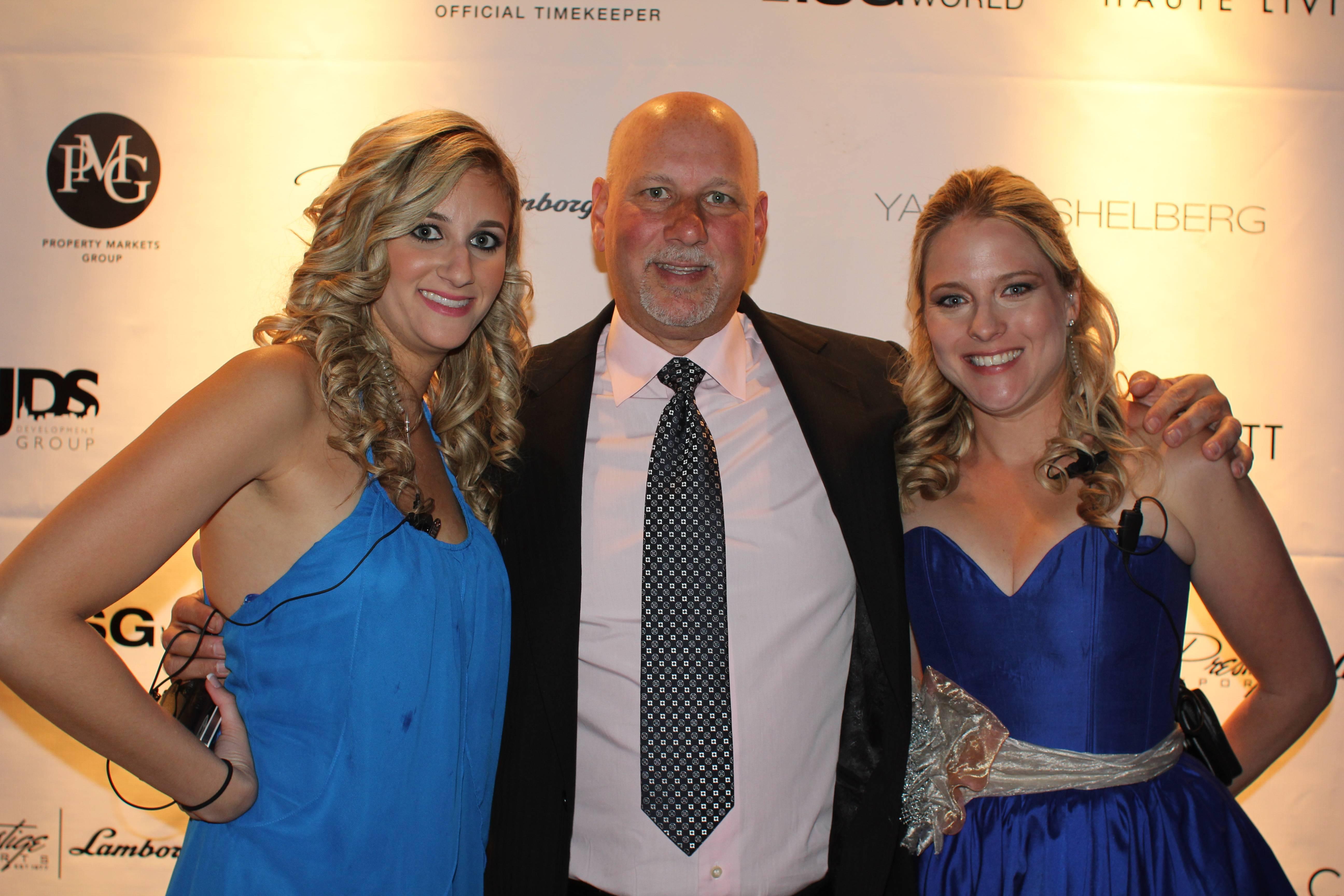 Rachel Levy, Albert Levy, Jessica Levy- Kiibler