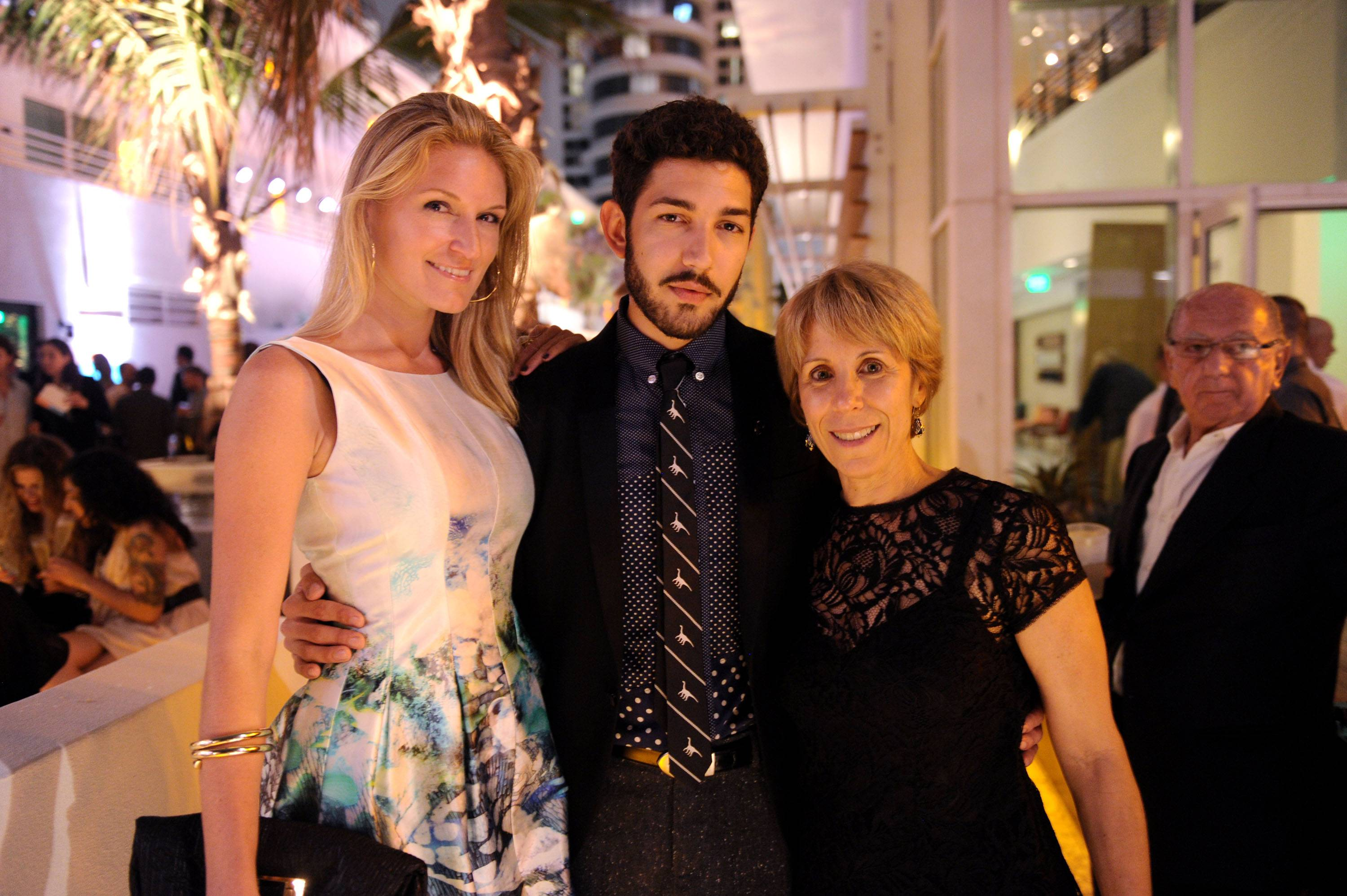 Sarah Arison, Anthony Spinello, Bonnie Clearwater