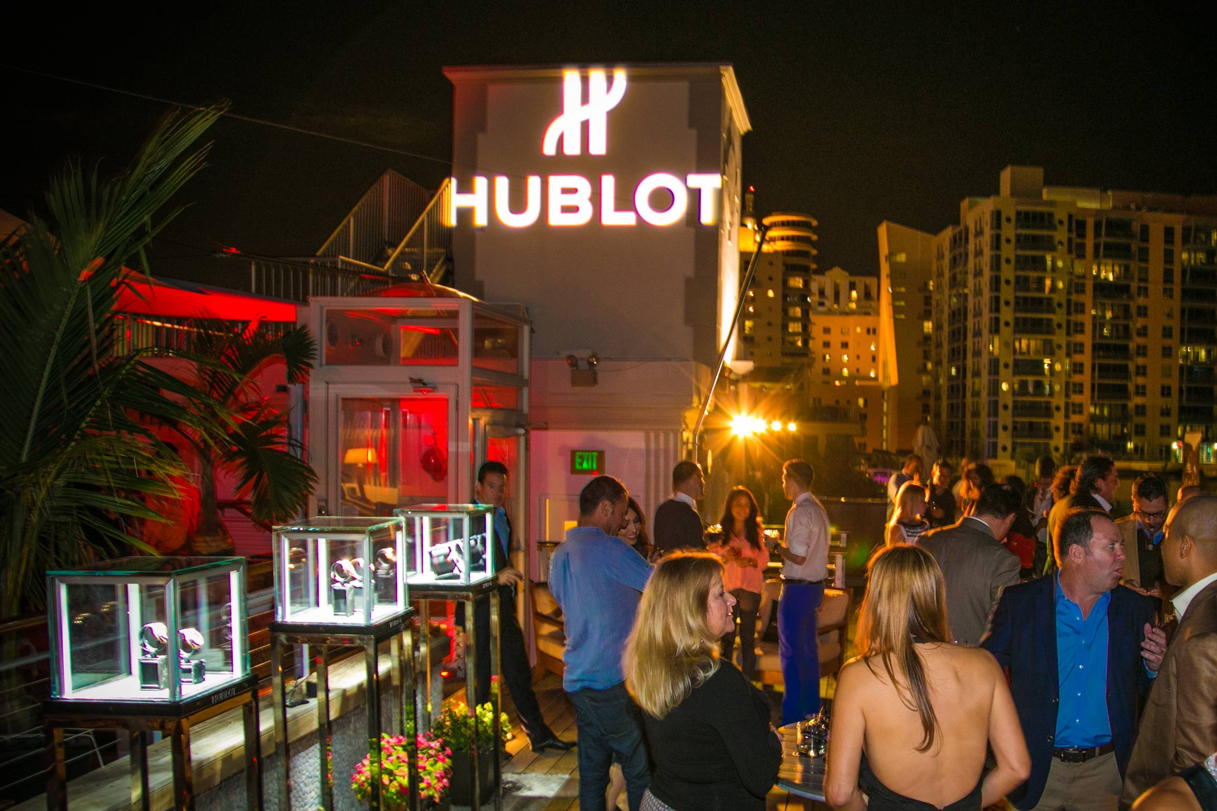 The Betsy Hotel Rooftop- Hublot, Arturo Fuente Cigars and Fraser Yachts event (13)
