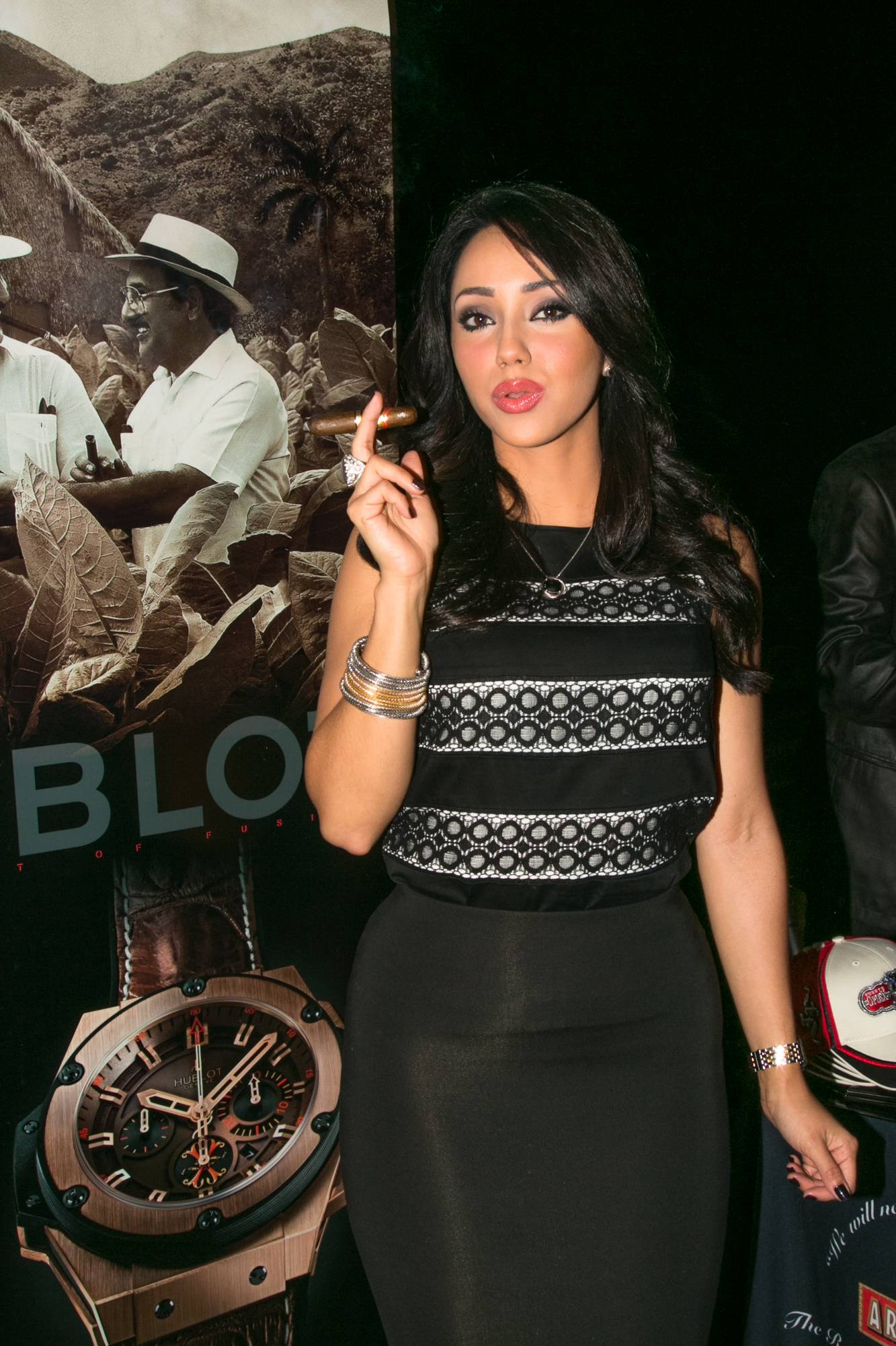 The Betsy Hotel Rooftop- Hublot, Arturo Fuente Cigars and Fraser Yachts event (14)