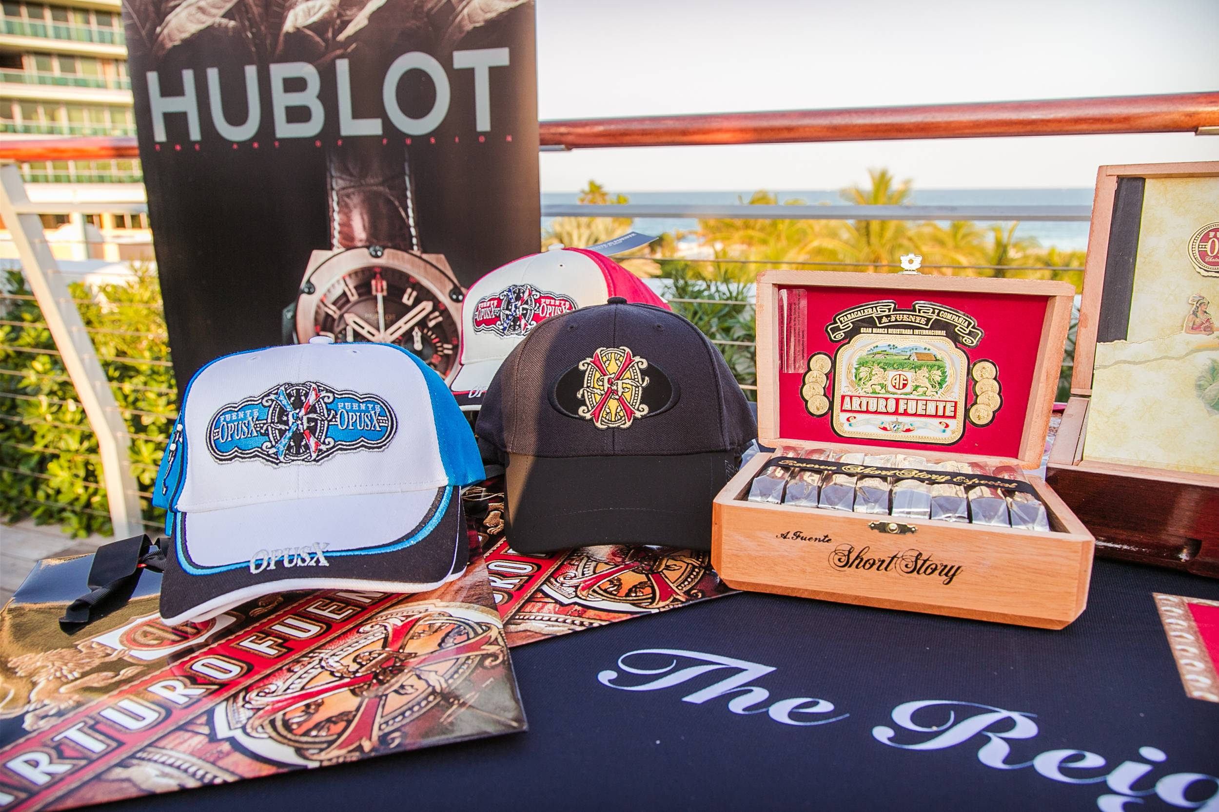 The Betsy Hotel Rooftop- Hublot, Arturo Fuente Cigars and Fraser Yachts event (17)