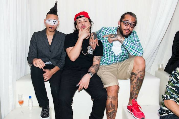 Tim William, Ax and Travie Mccoy
