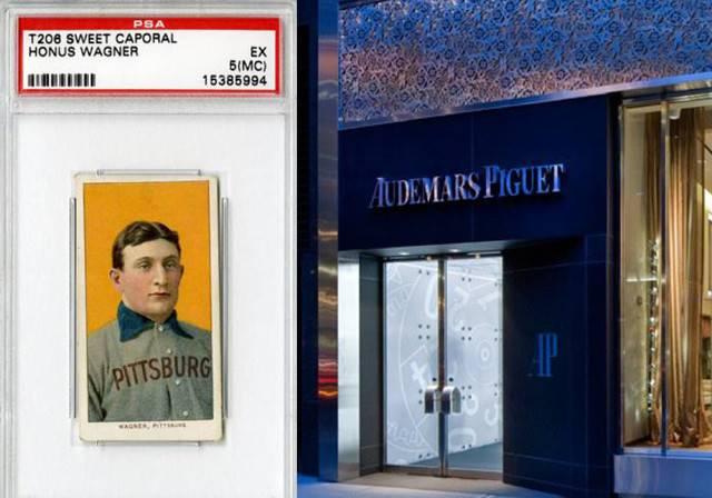 Worlds Most Famous Baseball Card On Display At Audemars Piguet