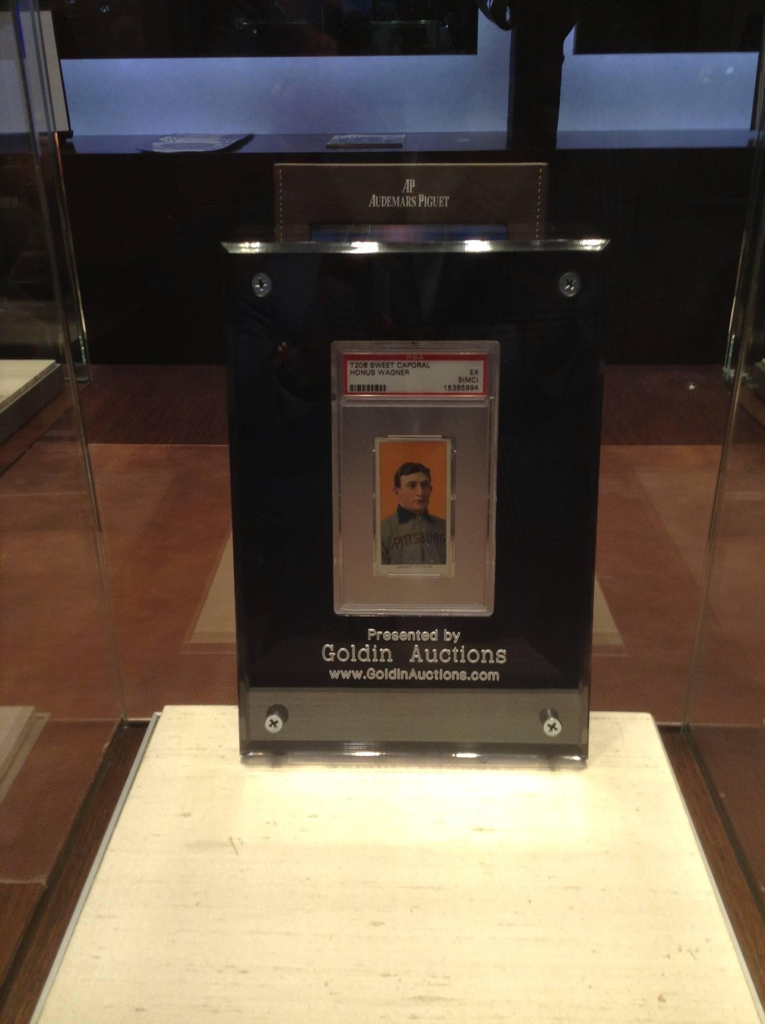 World\u0027s Most Famous Baseball Card on Display at Audemars Piguet ...