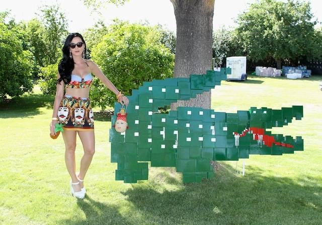 LACOSTE L!VE Desert Pool Party In Celebration Of Coachella – Day 1