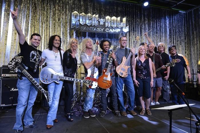 Def Leppard At Rock 'n' Roll Fantasy Camp
