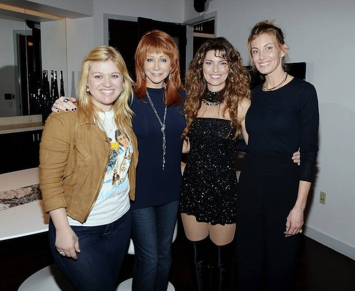 "Country Music Stars Backstage at ""Shania: Still The One"" Show"