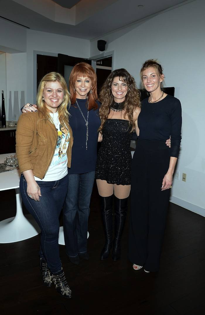 Country Music Stars Backstage at