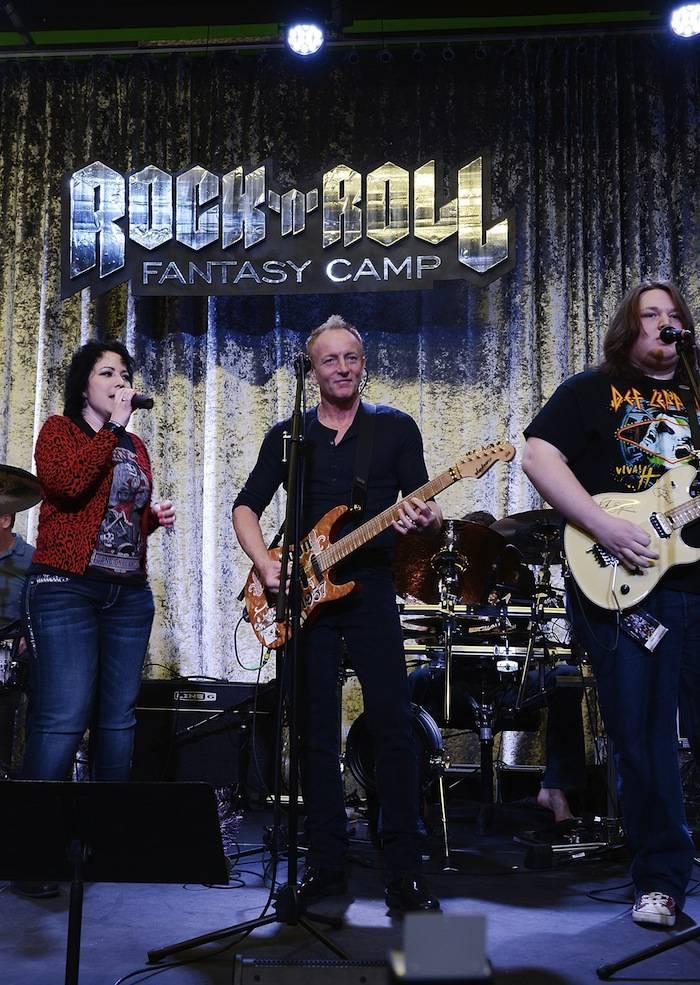 Def Leppard At Rock 'n' Roll Fantasy Camp - Day 2