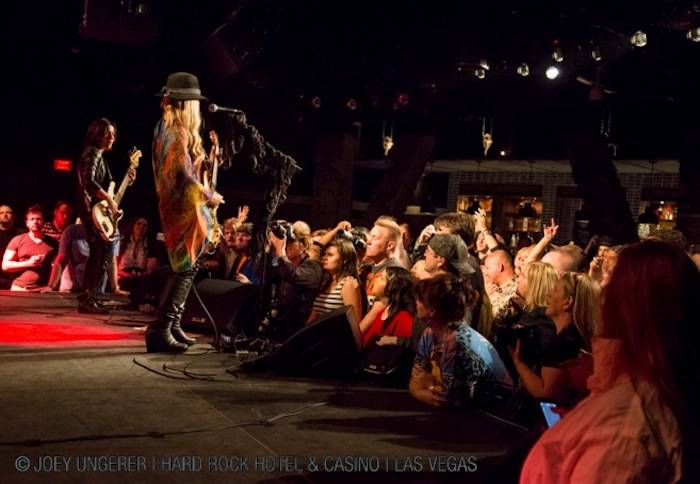4.25.13 Orianthi Plays for a Packed House in Vinyl at Hard Rock Hotel & Casino, credit Joey Ungerer