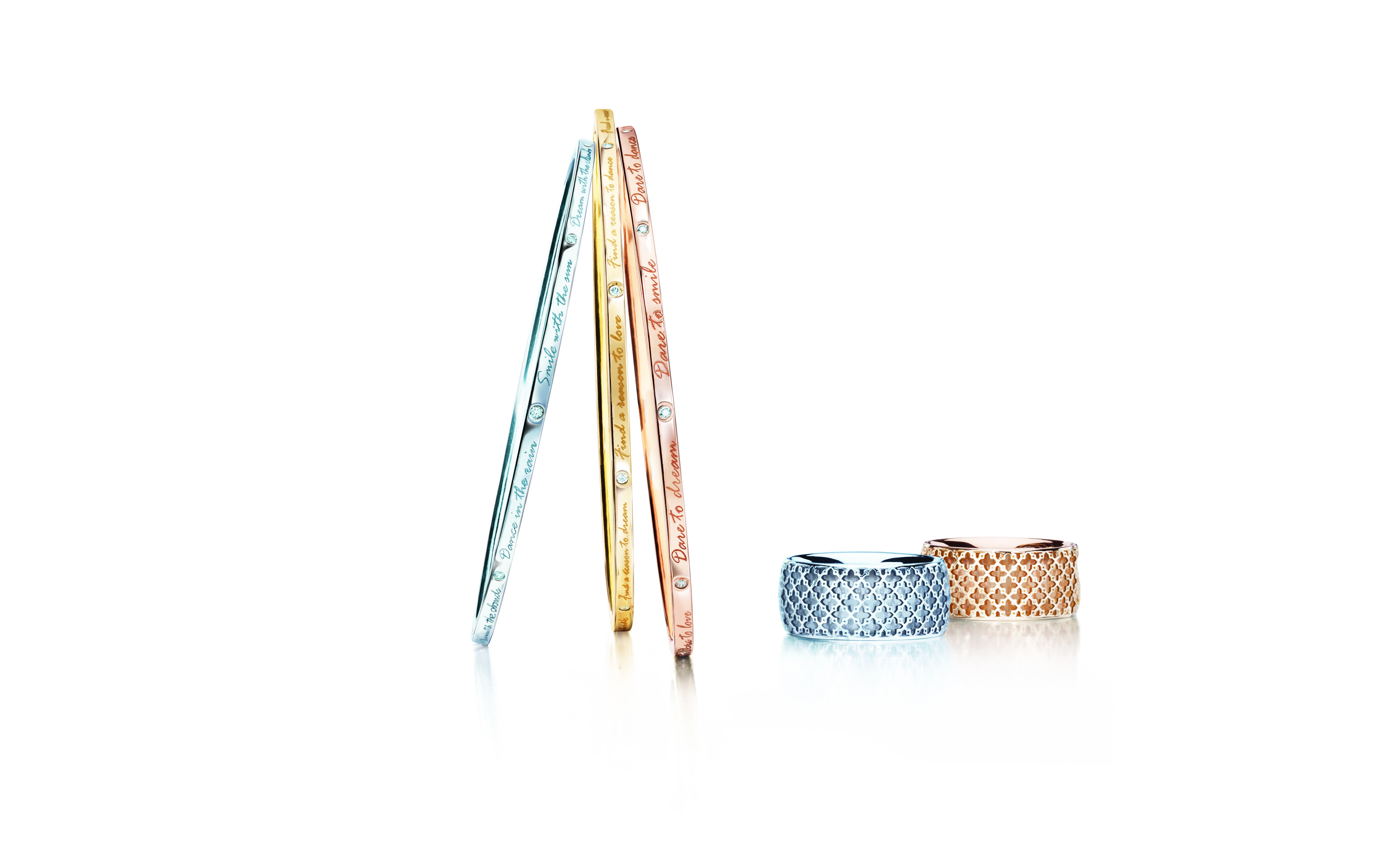 BIRKS MUSE Collection Bangles & Ring