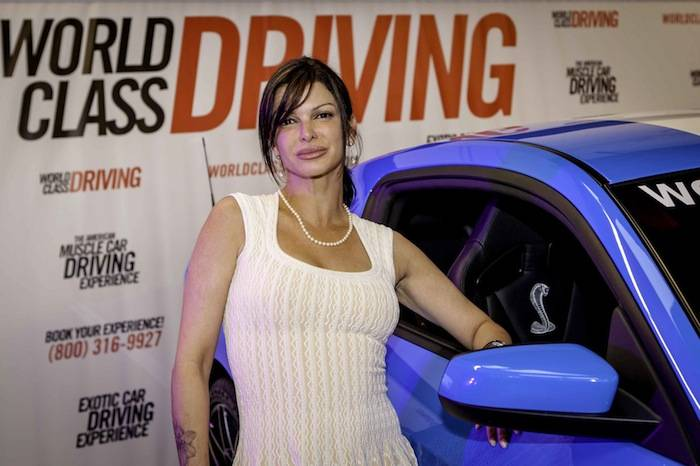 Carla Pellegrino at the American Muscle Car Driving Experience Launch Party - Vik Chohan Photography