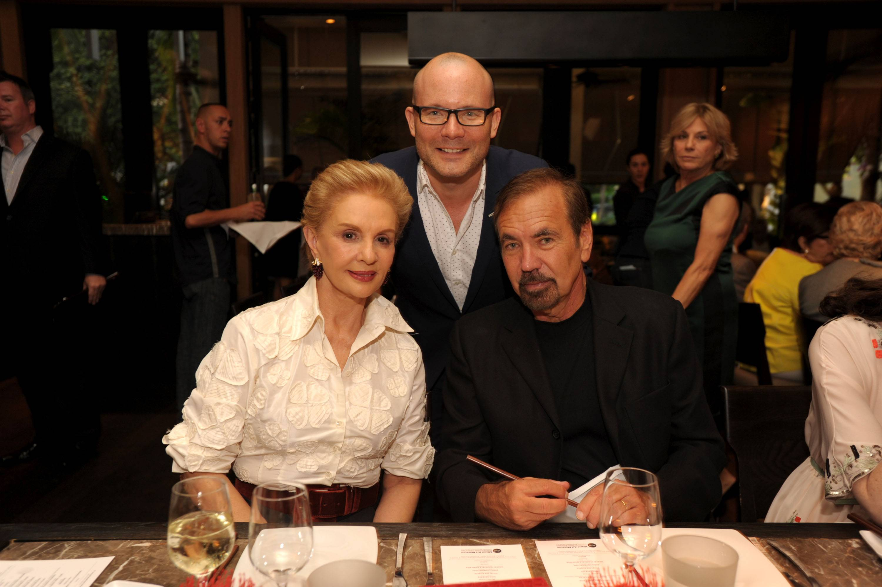 Carolina Herrera, Tom Collins, Jorge Perez