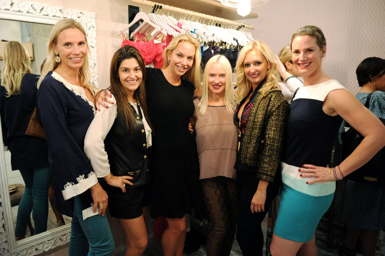 Christina Staalstom, Vanessa Sidi, Christina Getty-Maercks, Charlie Roc, Melissa Johnson, & Bettina Osterwind1