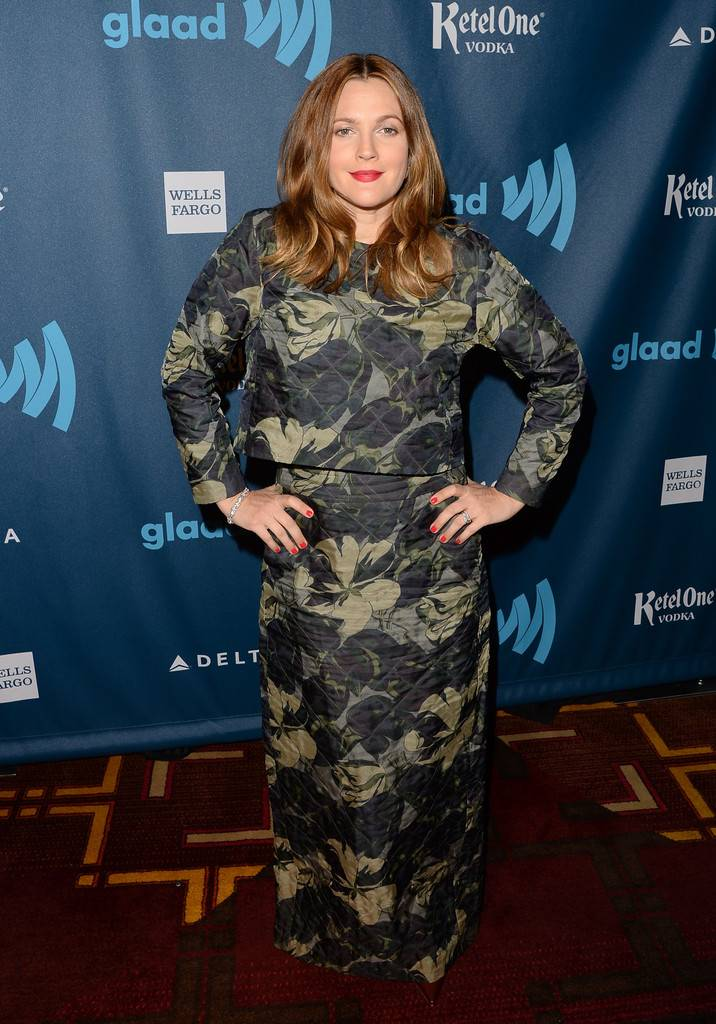 Drew+Barrymore+24th+Annual+GLAAD+Media+Awards+KJ8ahK3oRyGx