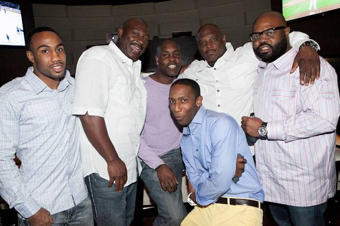 Gary Paytonwith friends and family at HERAEA at Palms Casino Resort 2