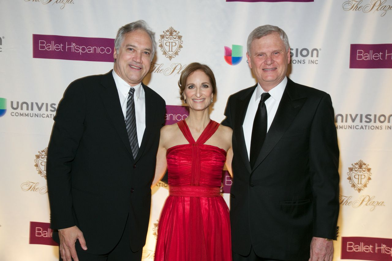 Herb Scannell, Kate Lear, Randy Falco
