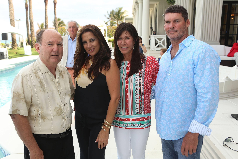 Chuck Johnson, Julie Giachetti, Jill Foxman, & Mike Tamaccio