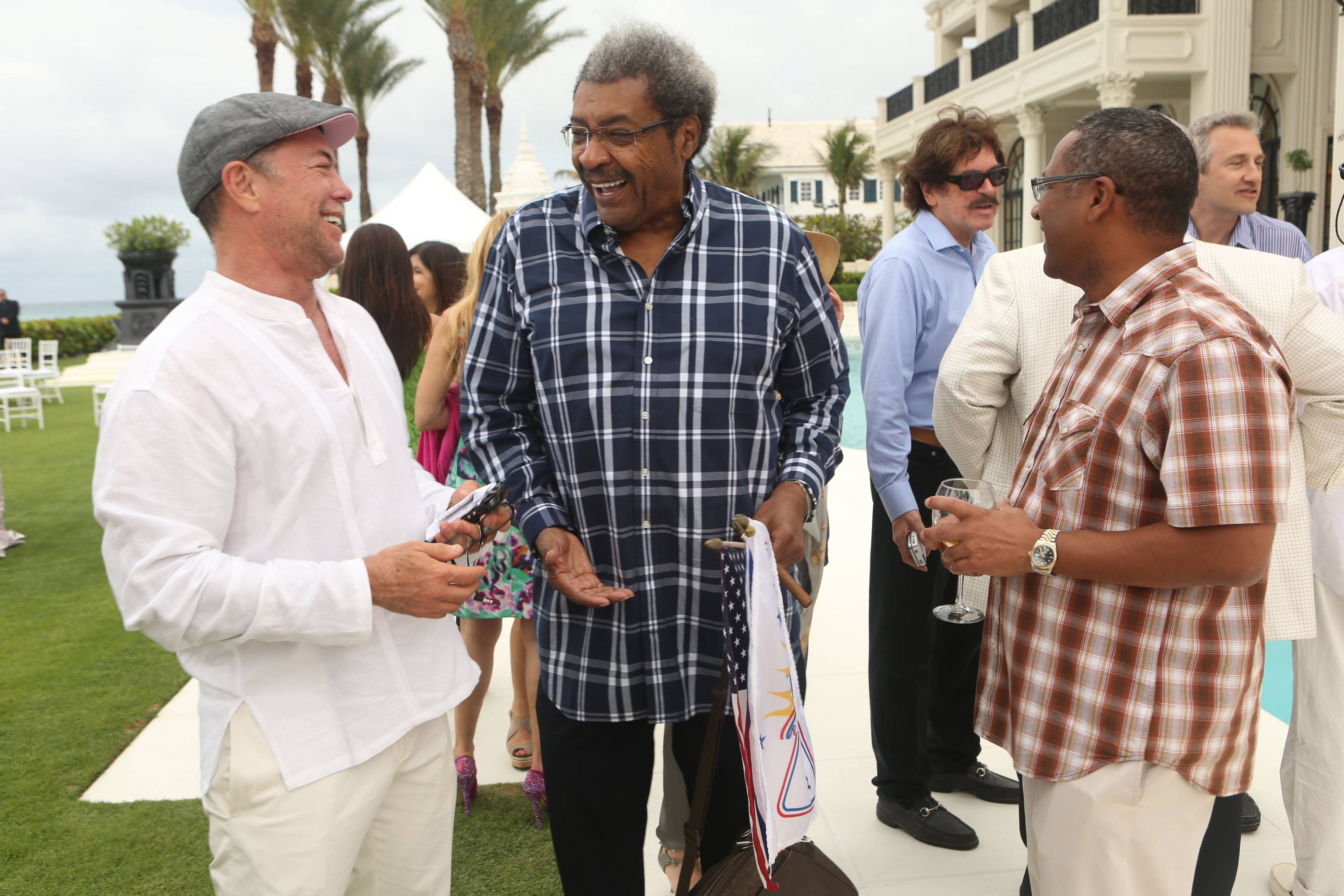 Shareef Malnik, Don King, & Norman Wedderburn