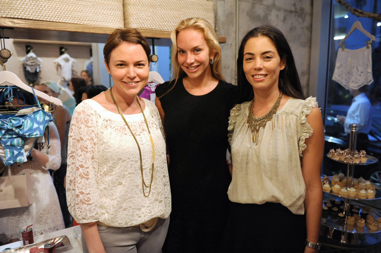 Mariela Rovito, Christina Getty-Maercks, & Ali Mejia