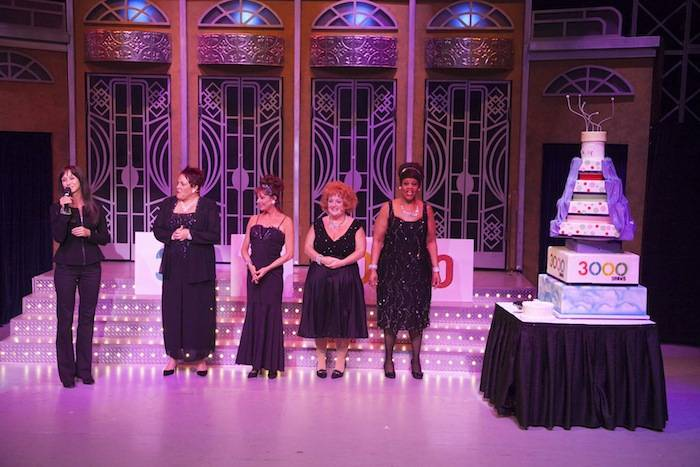 Menopause the Musical 3,000 Show – Renee West and Cast with Cake 4.16.13…