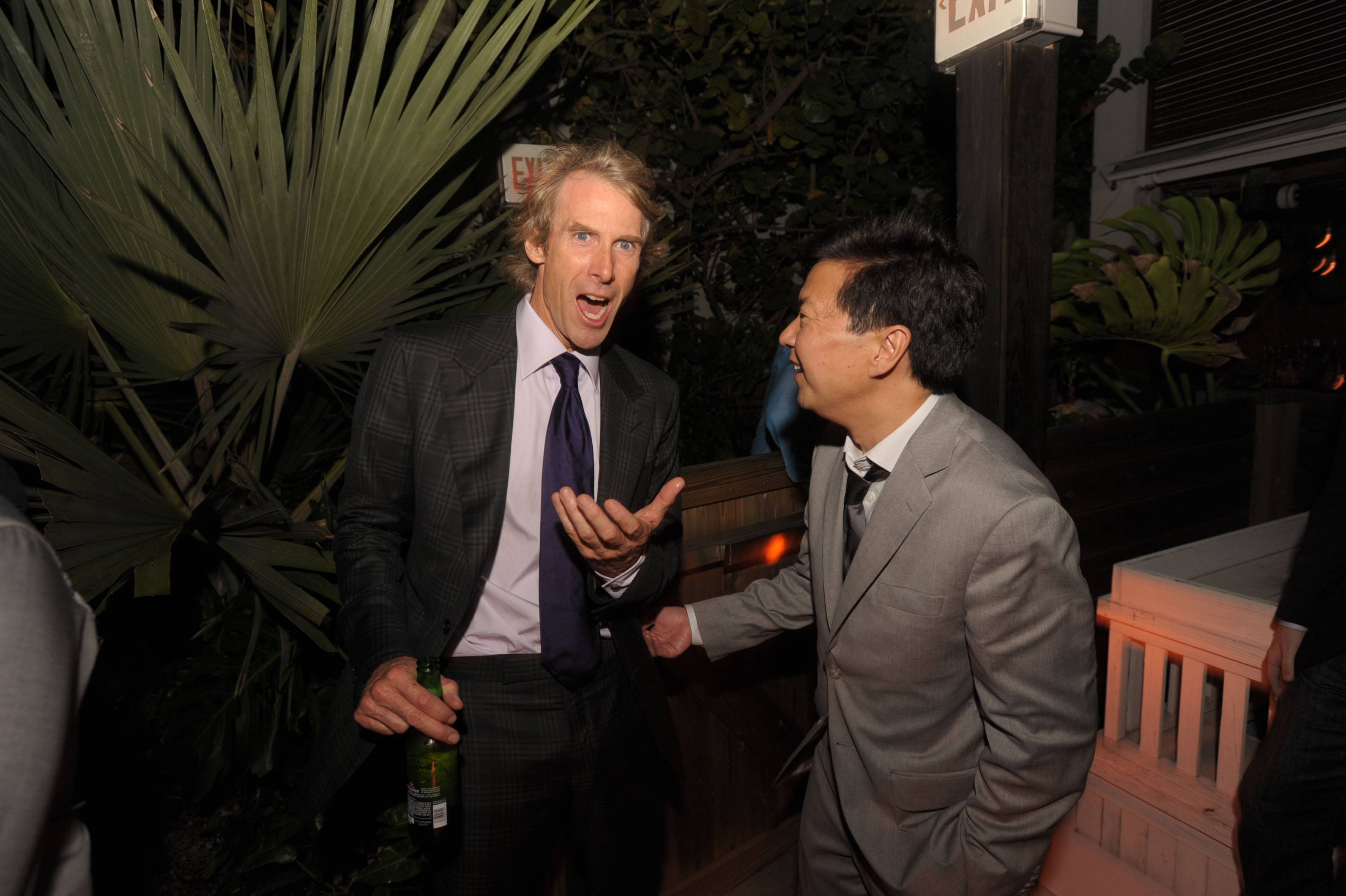 Michael Bay and Ken Jeong