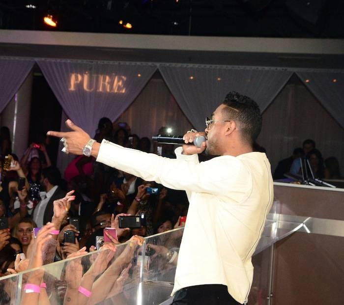 Miguel_Performance_PURE Nightclub