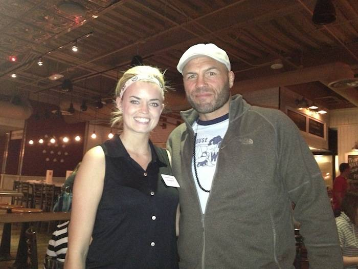 Randy Couture at Meatball Spot