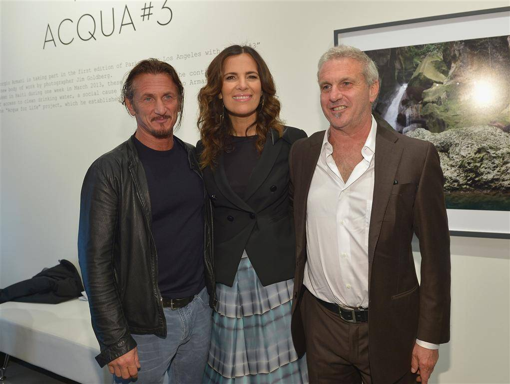 SEAN PENN ROBERTA ARMANI JIM GOLDBERG
