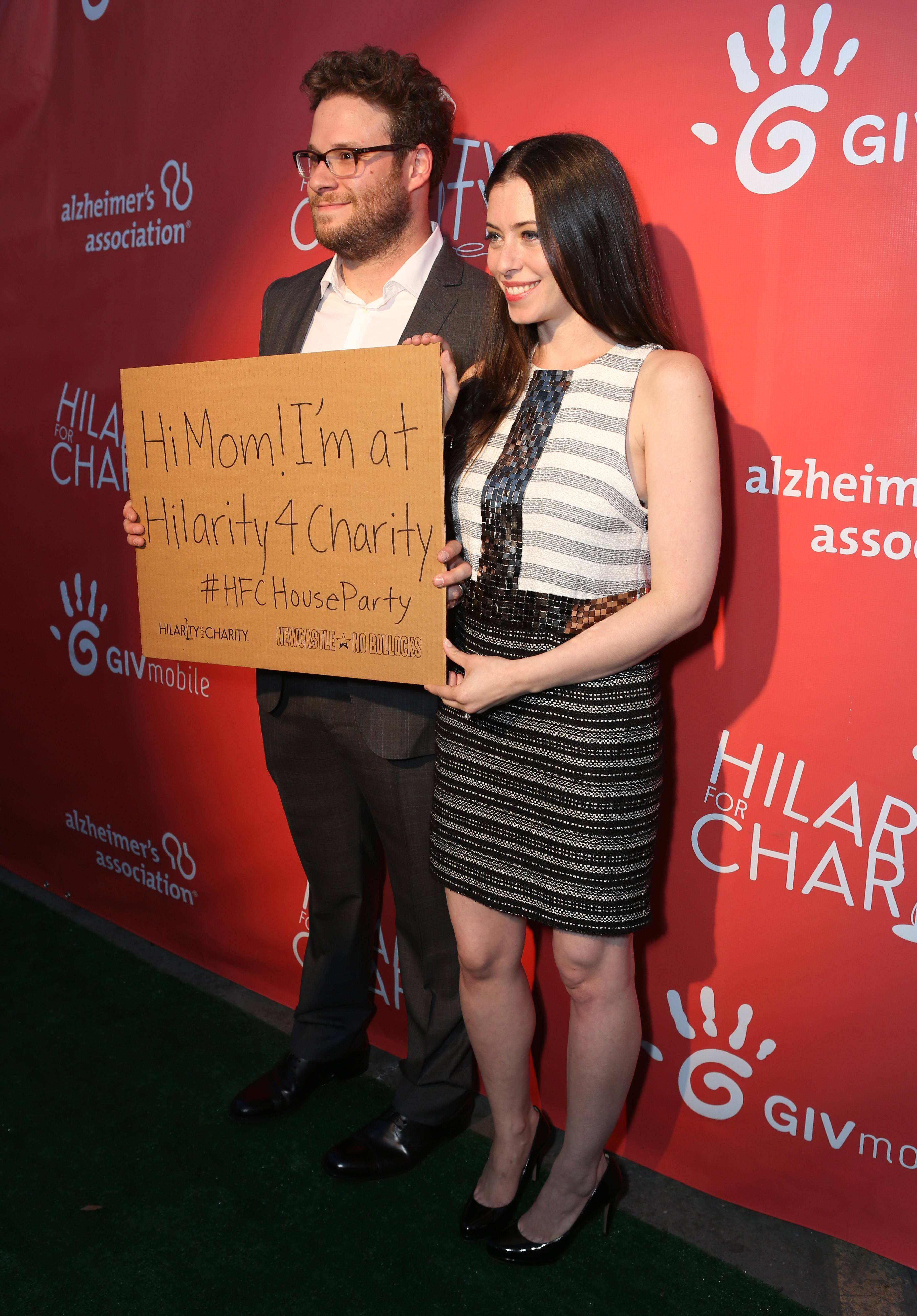 Second Annual Hilarity For Charity Benefiting The Alzheimer's Association - Red Carpet