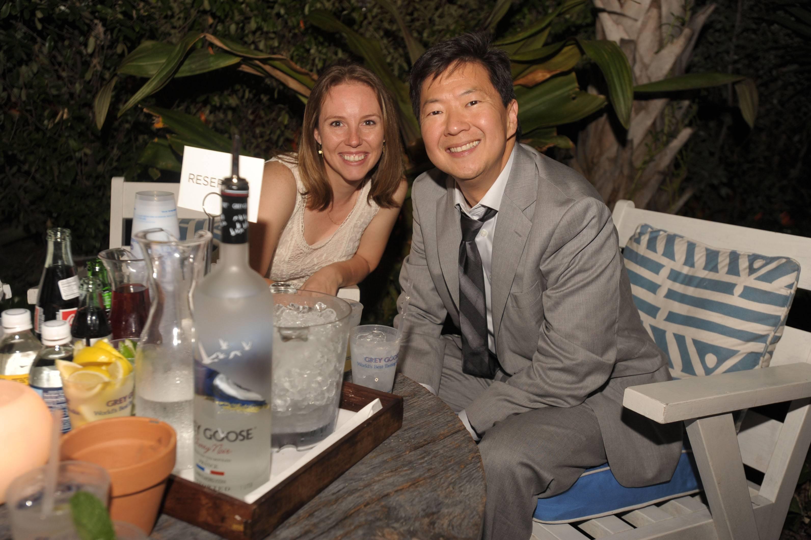 Stephanie Lamborn & Ken Jeong
