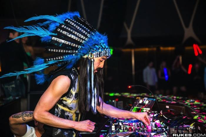 Steve Aoki_Headdress 2_Hakkasan LV Grand Opening Weekend_Rukes