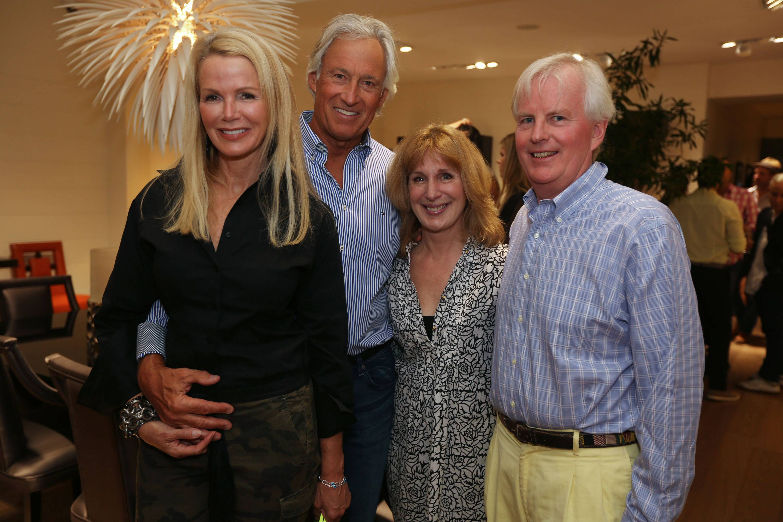 Blaine Trump, Steve Simon, Bambi & Nigel Goodhew
