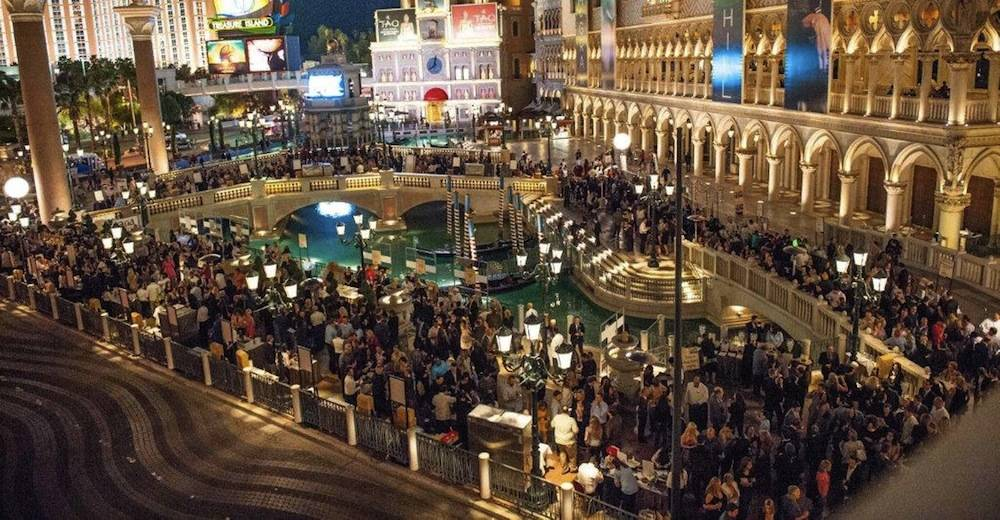 UNLVino's Bubble-Licious at The Venetian's Doge's Palace