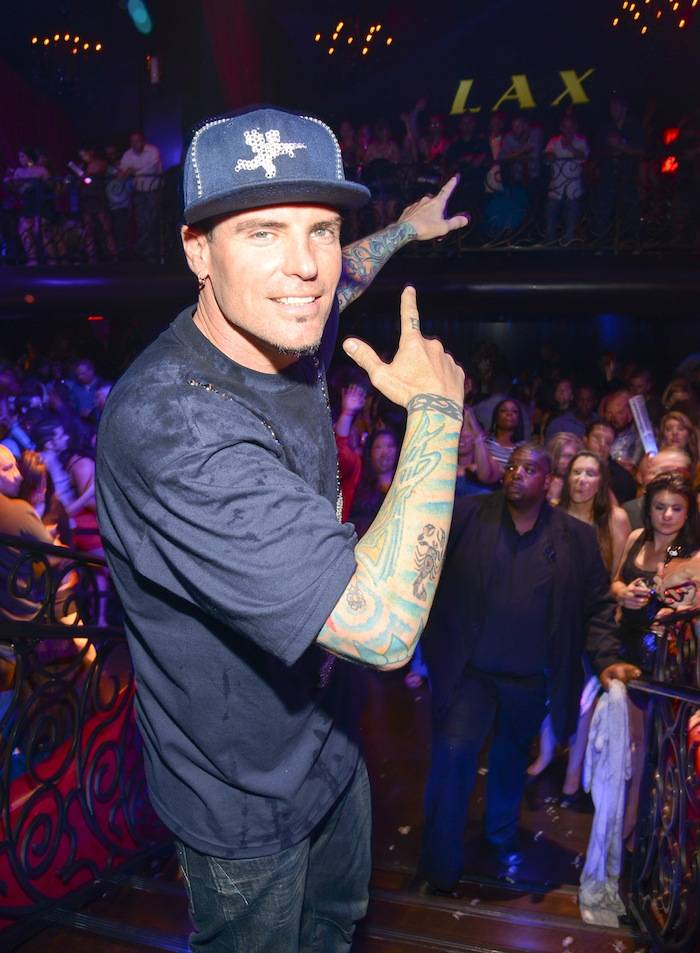 Vanilla Ice performs at LAX nightclub, Las Vegas, America - 13 April 2013