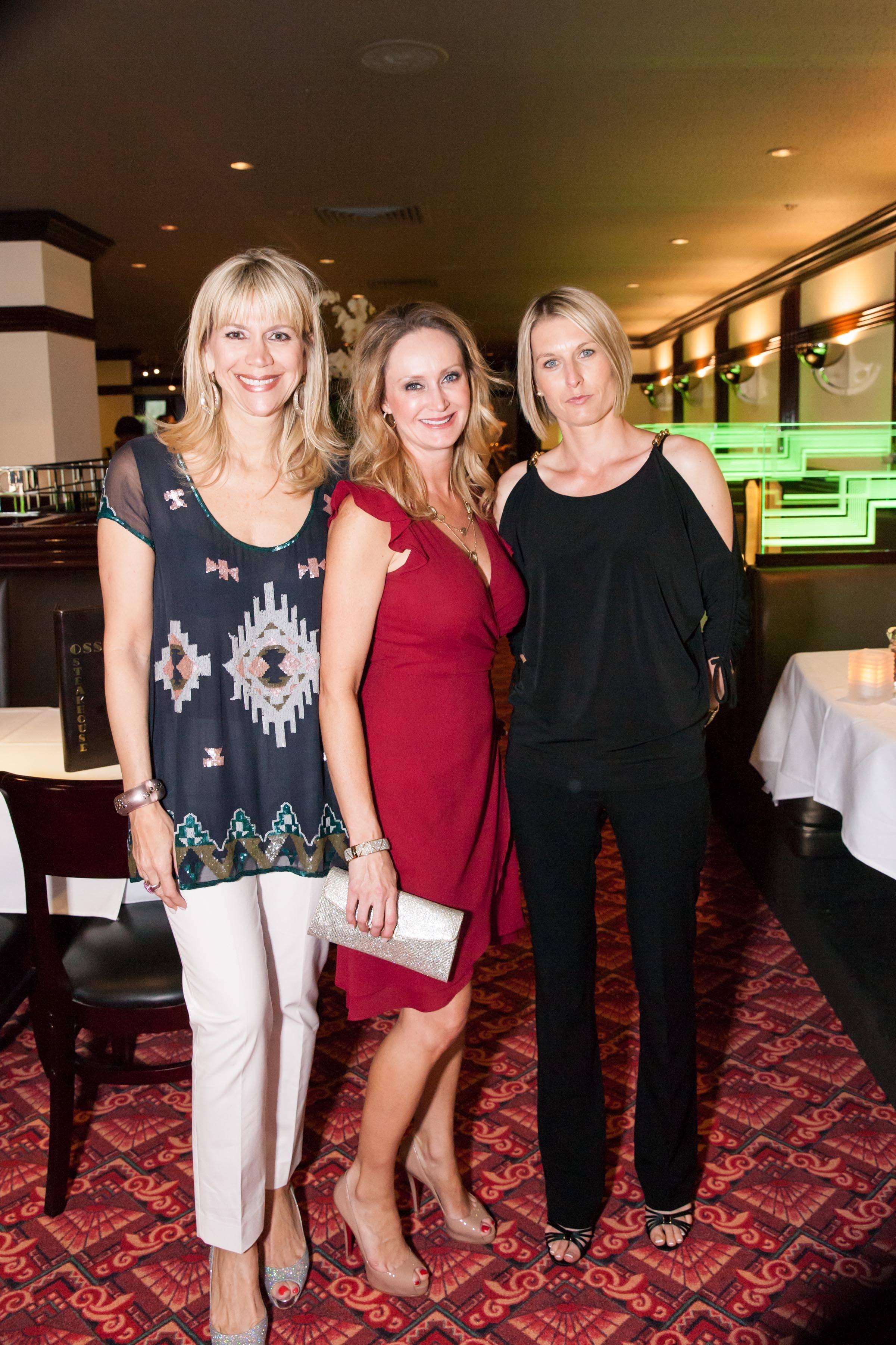 Kimberly Sharpe, Yvette Carmignani, Olga Pawlowicz