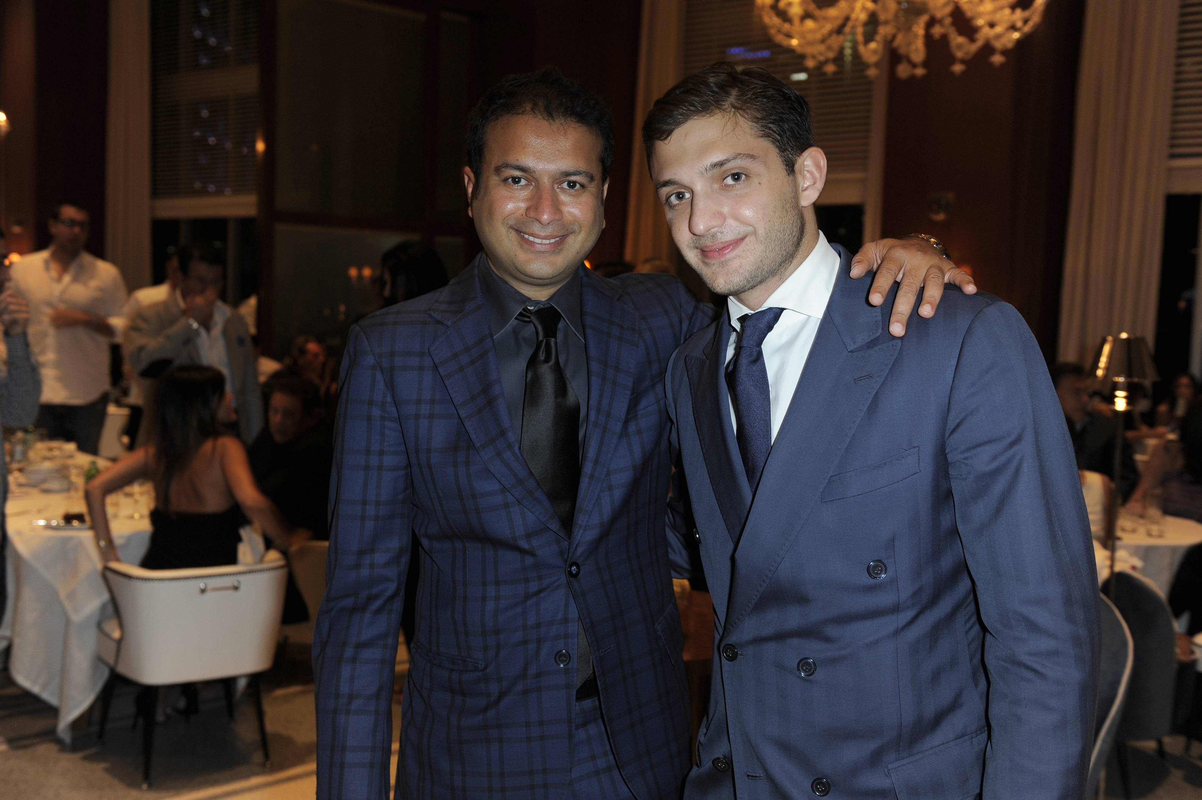 Kamal Hotchandani and Maggio Cipriani