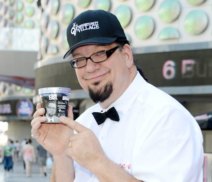 "Penn Jillette Launches His Special ""Celebrity Apprentice"" Ice Cream Flavor At Walgreens On Las Vegas Strip"