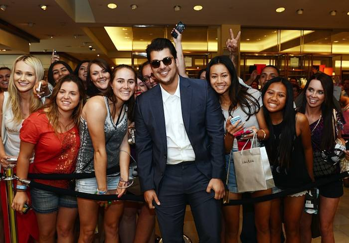 Rob Kardashian Unveils New Collection At Neiman Marcus