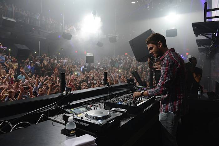 The Opening Of Light Nightclub At Mandalay Bay Featuring Zedd