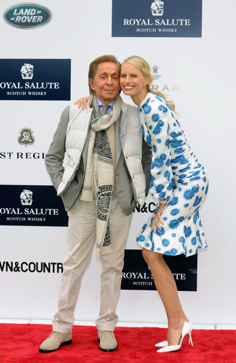 Valentino and Karolina Kurkova