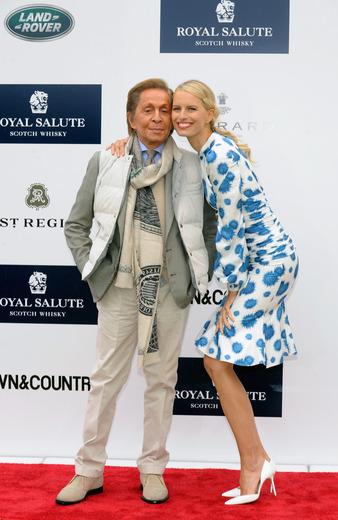 Valentino and Karolina Kurkova