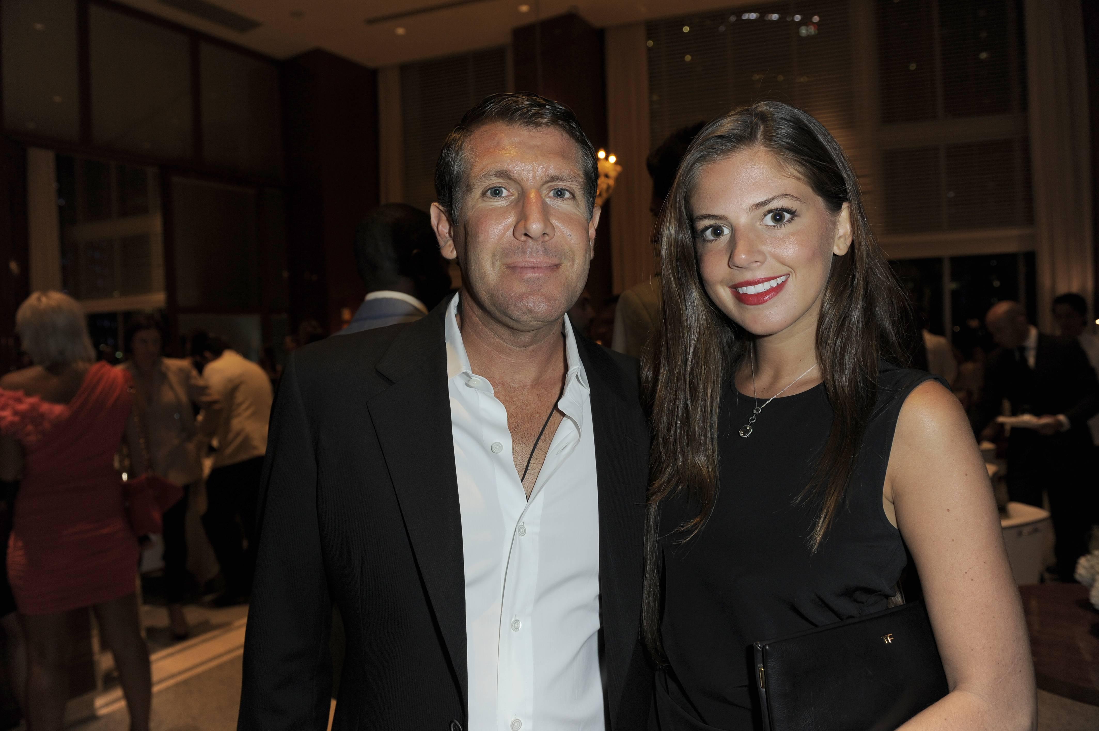 Michael Capponi and Lauren Fitzpatrick
