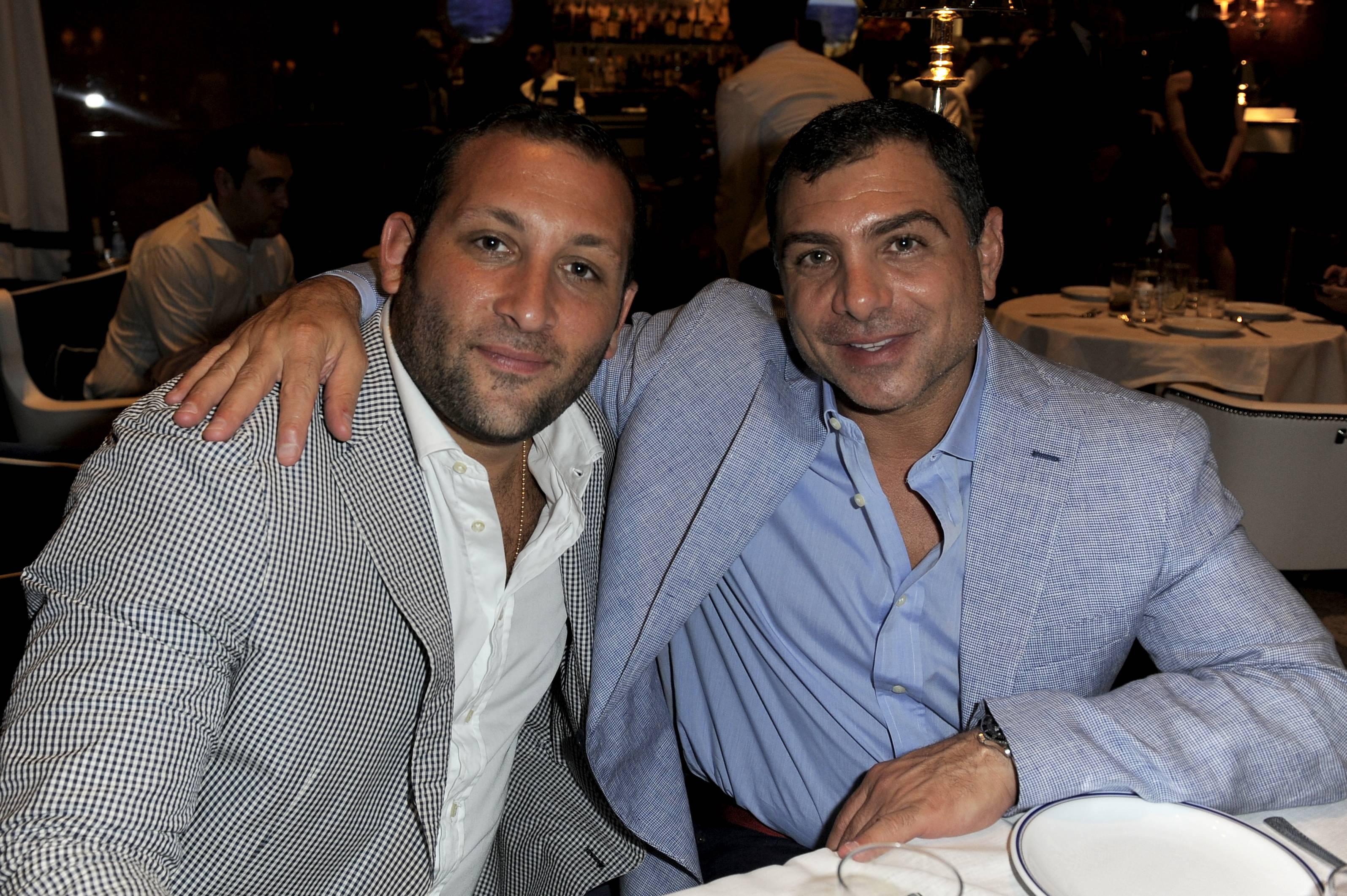 Keith Menin and Antonio Misuraca