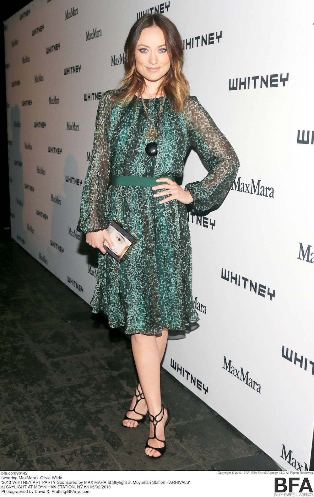 2013 WHITNEY ART PARTY Sponsored by MAX MARA at Skylight at Moynihan Station - ARRIVALS